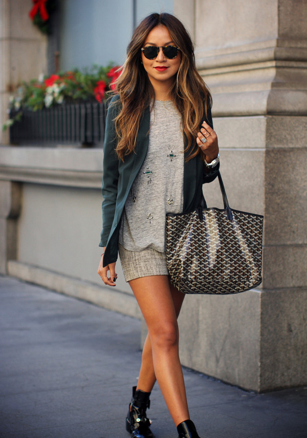 sincerely jules jacket t-shirt skirt shoes sunglasses