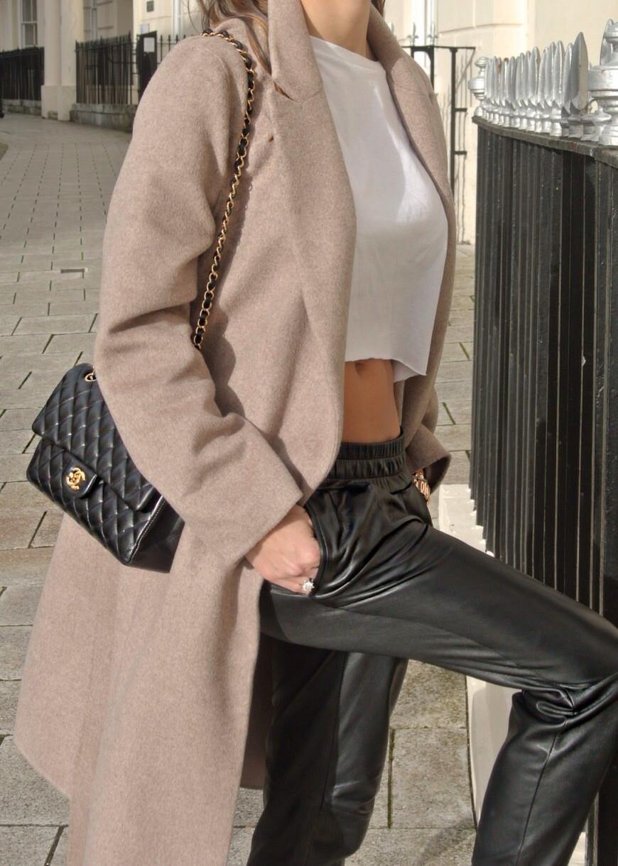 The original leatherette track pant – glamzelle