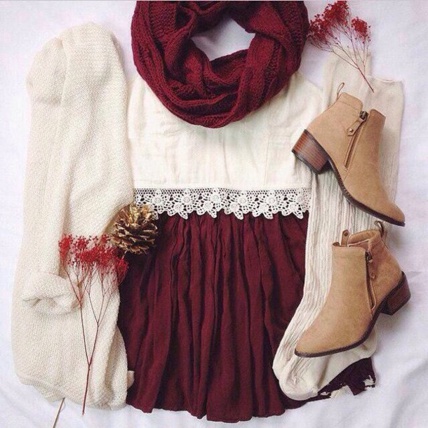 top lace top white top skirt socks scarf knitted scarf wine scarf knit wine scarf cardigan knitwear sweater cardigan open cardigan