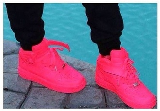 shoes nike pink dope nicki minaj style nice luxury beautiful