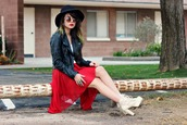 galore beneath the stars,hat,sunglasses,jewels,shirt,skirt,shoes
