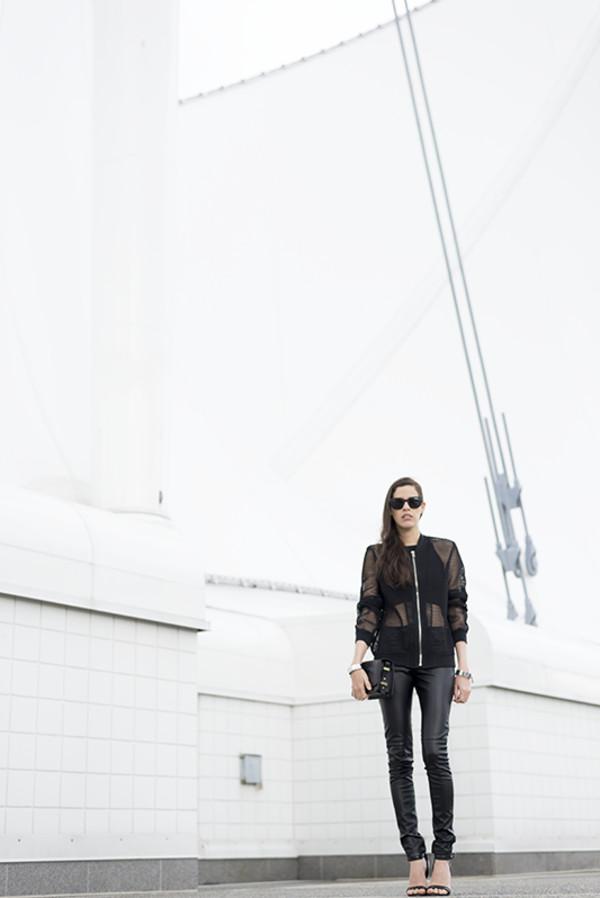 melissa araujo blogger top bag jewels