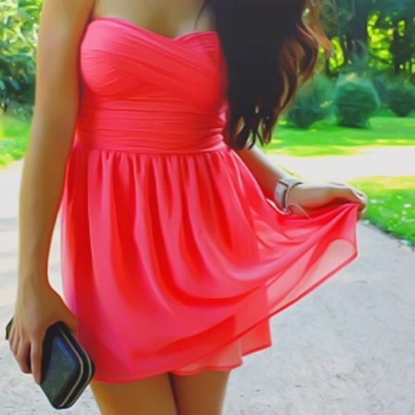dress hot pink dress pink pink dress party hot pink short hot pink dress