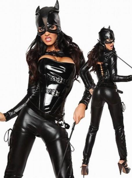 jumpsuit wots-hot-right-now cat woman halloween halloween costume sexy costumes halloween accessory sexy jumpsuit black bodycon jumpsuit ...  sc 1 st  Where To Get It & jumpsuit wots-hot-right-now cat woman halloween halloween ...