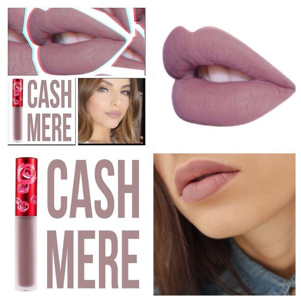 make-up matte lipstick lip gloss cashmere baddies velvet lipstick velvetine lime crime