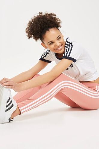leggings adidas originals pink pants