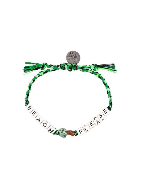Venessa Arizaga beach women cotton green jewels