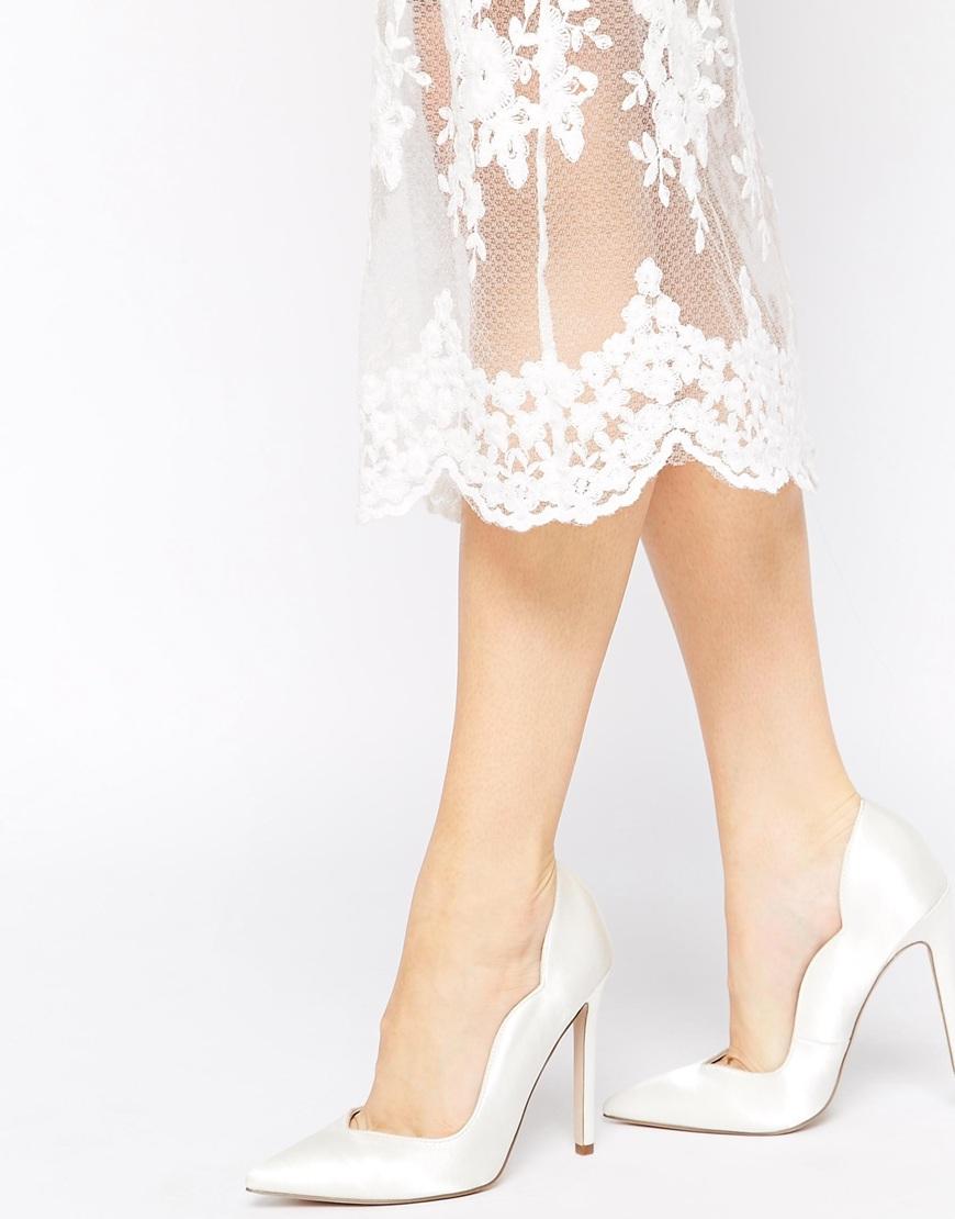Asos perfect day pointed high heels at asos.com