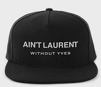 Ain t Laurent Without Yves Hat - Yves Saint Laurent - Polyvore bdc460dd41c