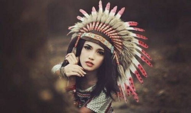 hat indian hat indie