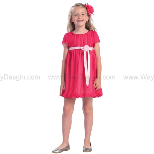 fuchsia dress dress flower girl dresses