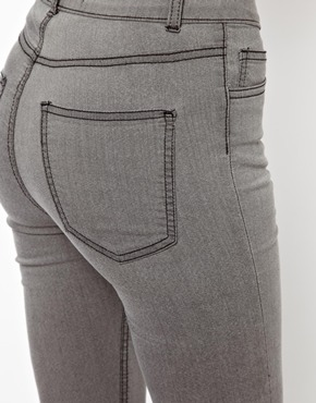 Just Female   Just Female Stroke Powerstretch High Waist Skinny Jeans at ASOS