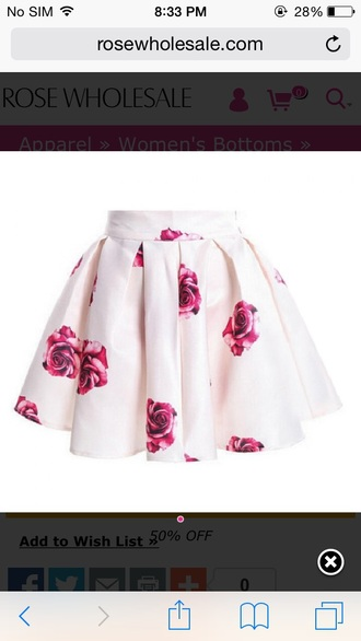 skirt style floral skater skirt floral skirt floral girly flowers high waisted skirt mini skirt pretty
