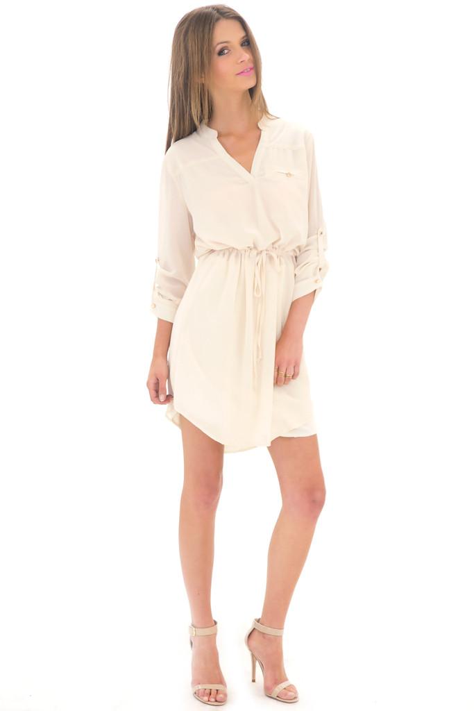 Laurin chiffon dress shirt
