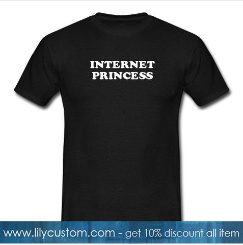internet princess tshirt