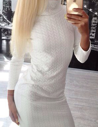 dress outf girly boho dress dress corilynn prom dress white white dress white top outfit outfit idea fall outfits tumblr outfit winter outfits office outfits cute outfits tumblr tumblr girl hipster wishlist knitwear knitted sweater sweater dress
