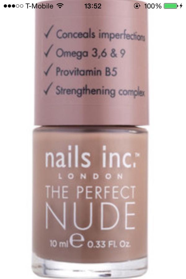 nail polish nails inc nude healthy