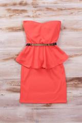 Sirenlondon — strapless darling dress