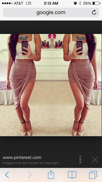 skirt asymmetrical skirt