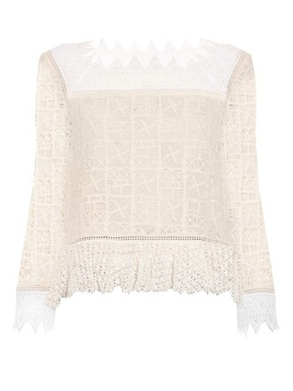 top lace crochet