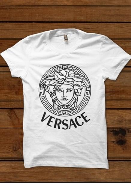 shirt versace t-shirt designer