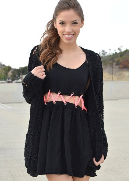 Dress Little Black Dress Cut Out Cut Out Dress Criss