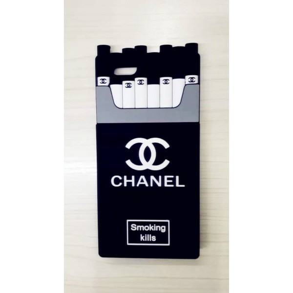 Silicone case chanel cigarettes for iphone6