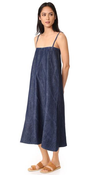 6397 Circle Dress - Stonewash