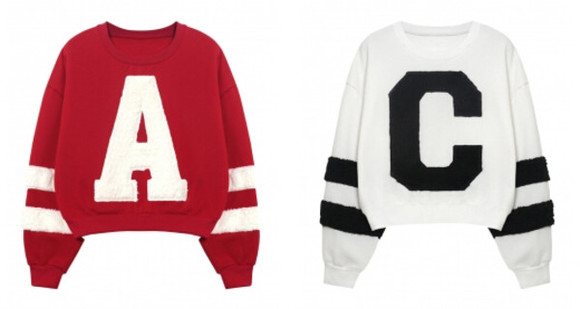 coat fashion clothes sweater top blackfive cardigan jumper winter/autumn outfit sweatshirt shirt baseball top crop tops t-shirt