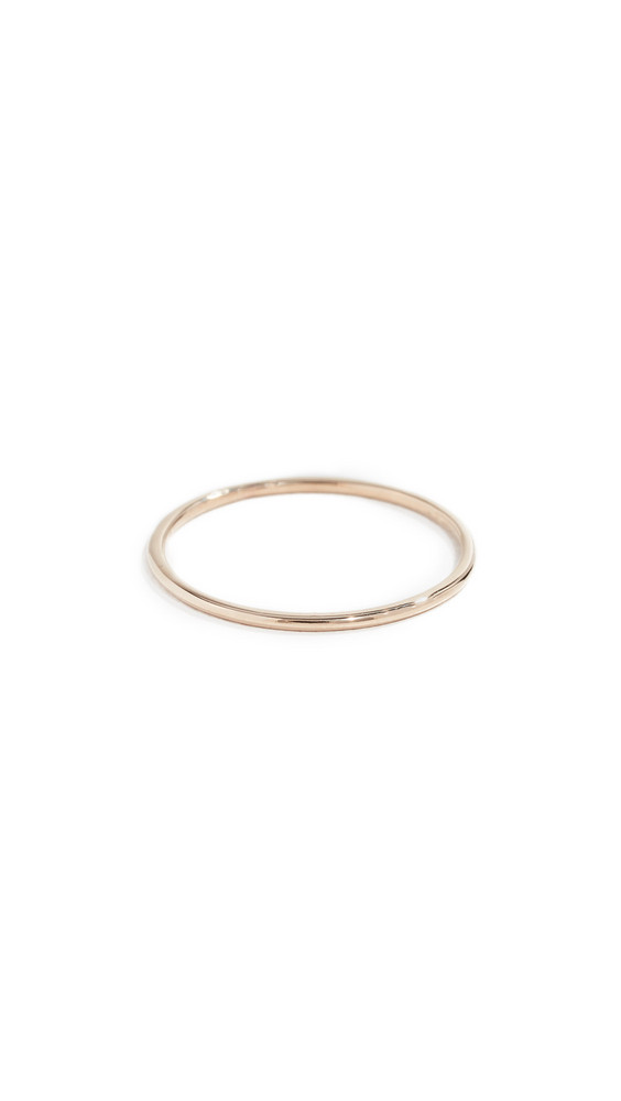 Zoe Chicco 14k Simple Band Ring in gold / yellow