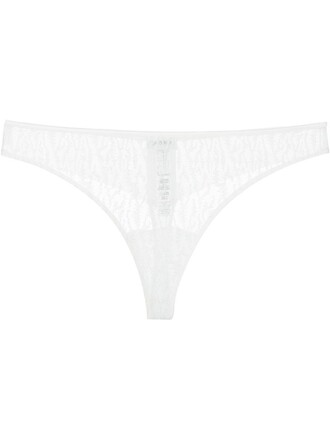 thong chic white underwear