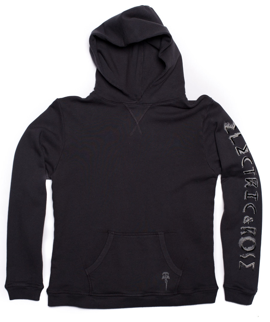 Brooks hoodie – electric & rose clothing