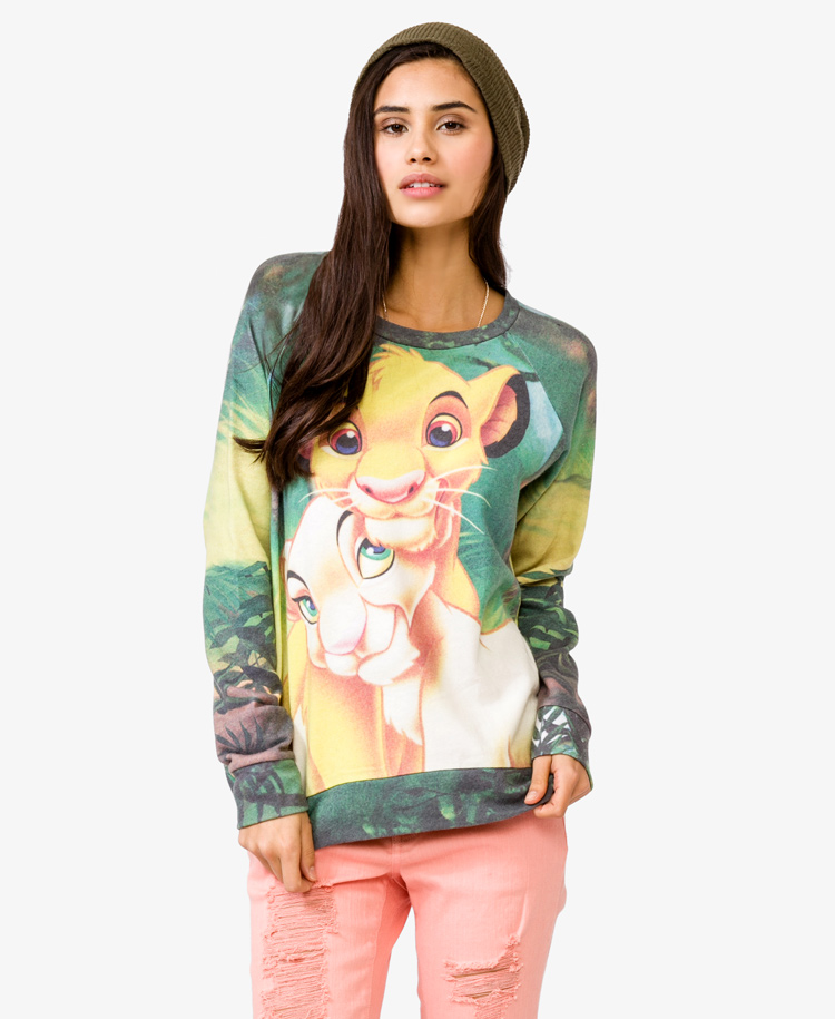 Simba & nala pullover