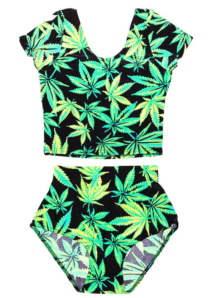 The 420 bodysuit set