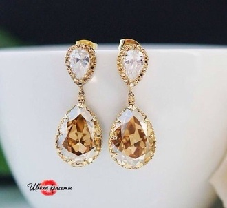 jewels golden earrings
