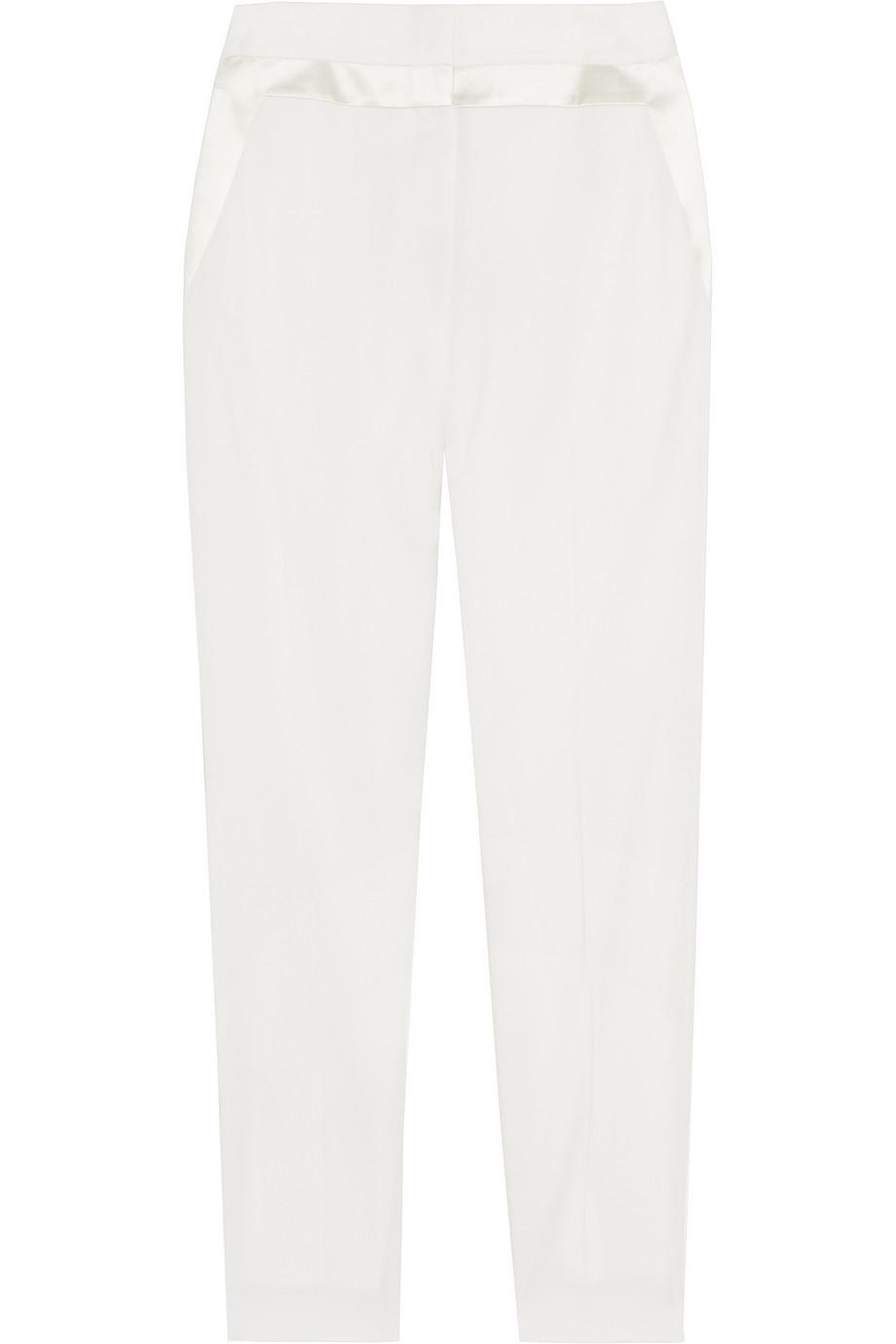Cropped wool-twill pants | Alexander Wang | 88% off | THE OUTNET