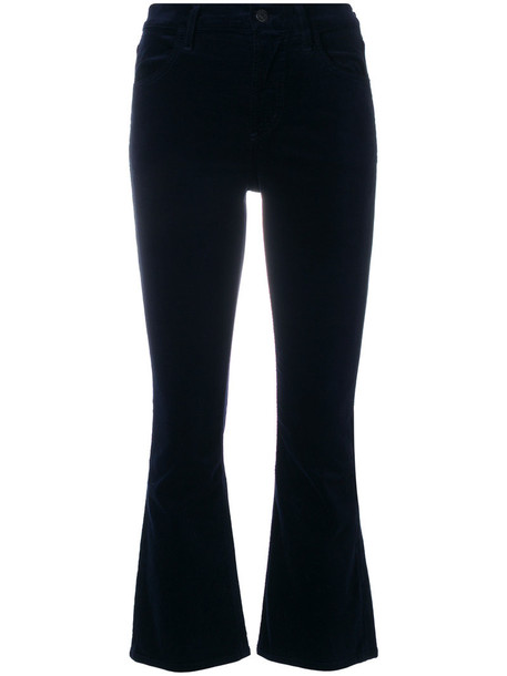 CITIZENS OF HUMANITY cropped women spandex cotton blue pants
