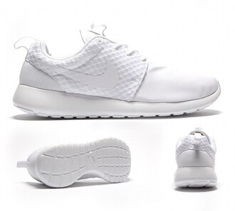 shoes sneakers white sneakers pureplatinum nike roshe run roshe run marble pack roshe run marbl
