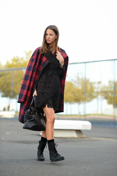 fashion vibe coat shoes bag dress