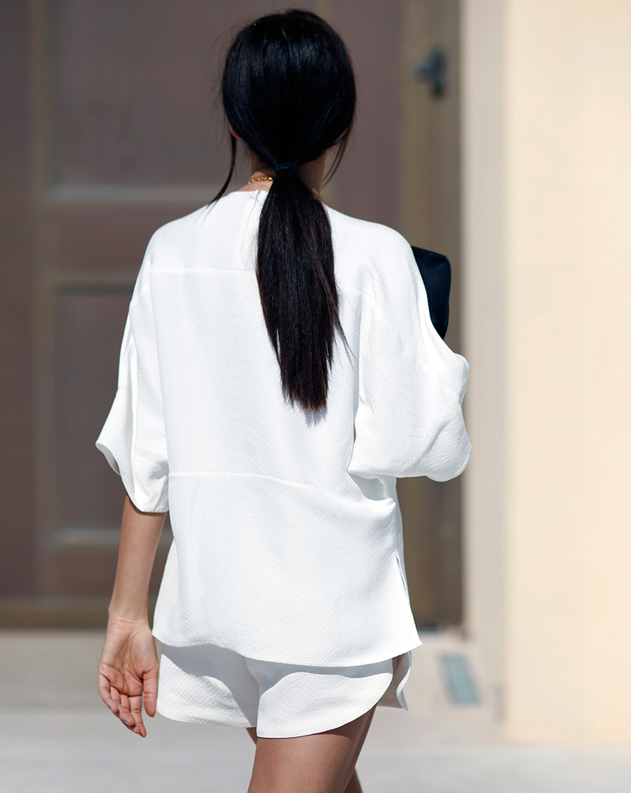 Stella McCartney All-White | STYLEHEROINE