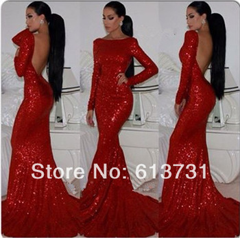 Aliexpress.com : buy 2014 new fashion sexy v neck long sleeves lace appliques open back mermaid wedding dresses bridal gown with keyhole back from reliable gown dresses for sale suppliers on suzhou babyonline dress store
