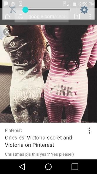 jumpsuit pink victoria's secret