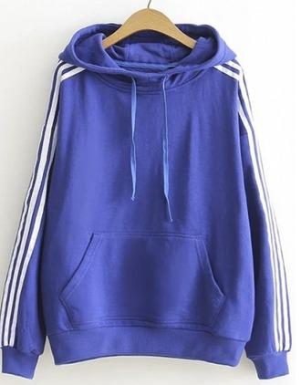 sweater girl girly girly wishlist blue blue hoodie hoodie stripes