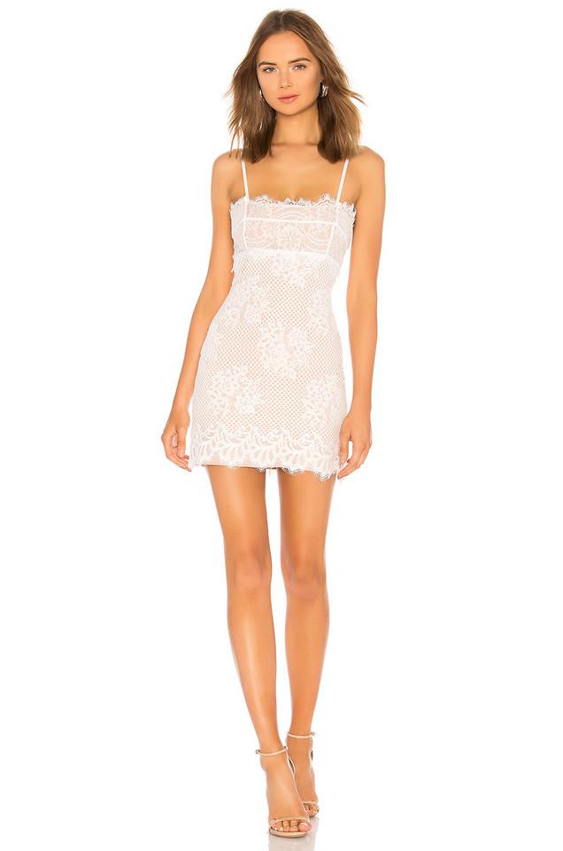 MAJORELLE Apollo Dress in white