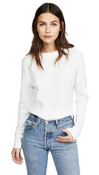 Knot Sisters top white