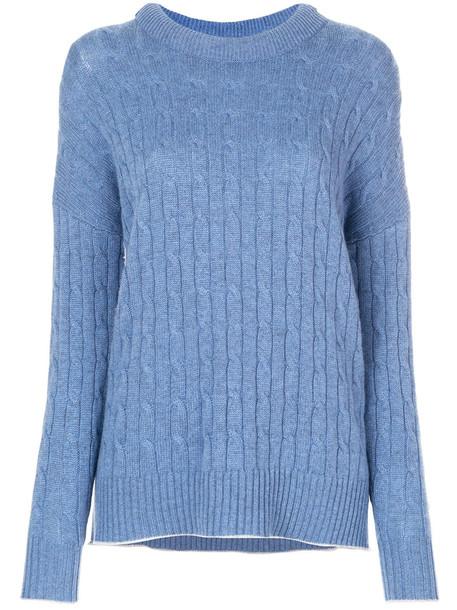 N.Peal jumper women blue sweater