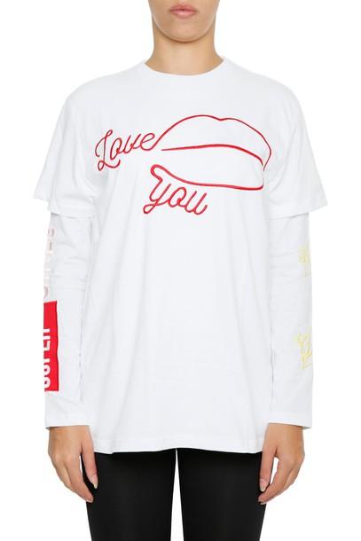 Chiara Ferragni t-shirt shirt t-shirt love top