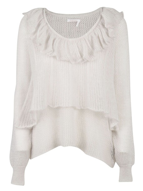 See by Chloe sweater white