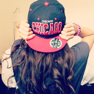 hat snapback dope girl guys chicago chicago bulls red black cute rebel cool story bro