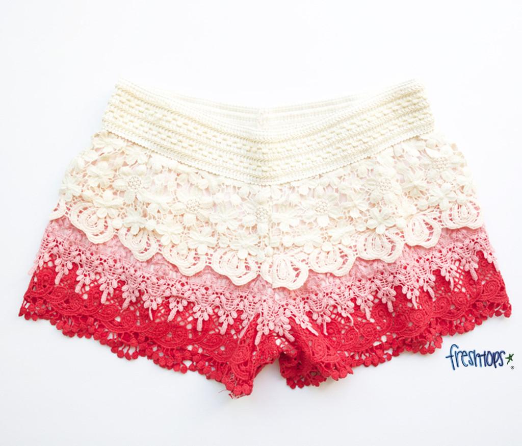 Corinne crochet short